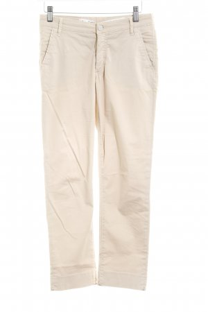 Gant Pantalone peg-top crema stile casual
