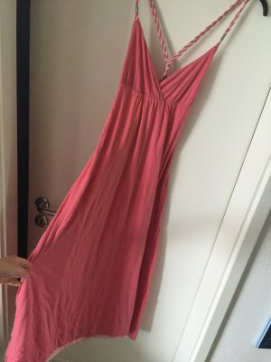 Gant Kleid Sommerkleid Neckholder top Gr.38 M pink Koralle