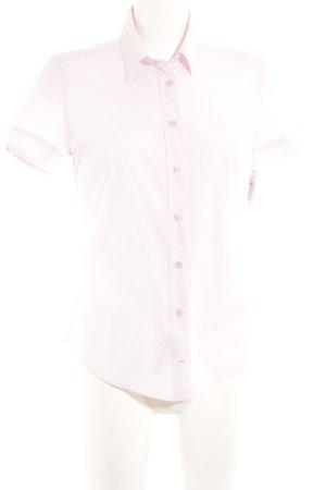 Gant Shirt met korte mouwen lichtroze zakelijke stijl