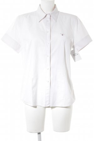 Gant Short Sleeve Shirt light pink-white casual look
