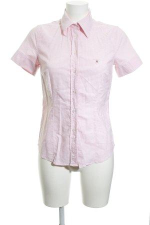 Gant Shirt met korte mouwen geruite print zeiler stijl