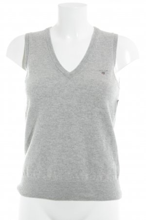 Gant Short Sleeve Sweater light grey street-fashion look