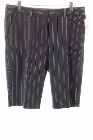 Gant Short Trousers grey-black striped pattern classic style
