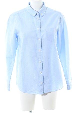 Gant Langarm-Bluse blau