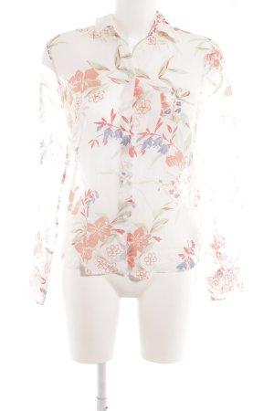 Gant Langarm-Bluse florales Muster Casual-Look