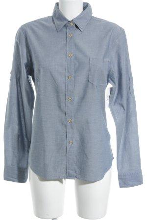 Gant Langarm-Bluse graublau Business-Look