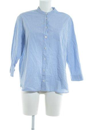Gant Langarm-Bluse himmelblau Casual-Look