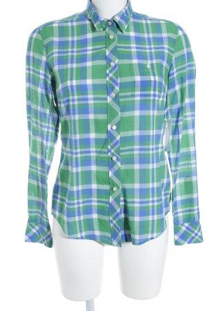 Gant Langarm-Bluse Karomuster Casual-Look