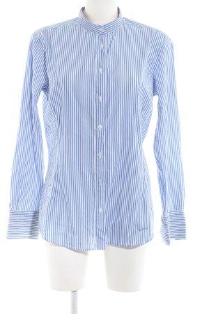 Gant Langarmhemd blau Streifenmuster Business-Look