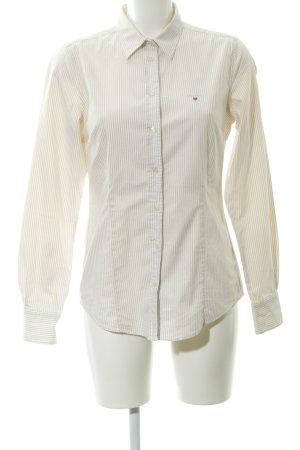 Gant Langarmhemd beige-creme Streifenmuster Business-Look