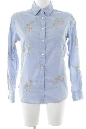 Gant Chemise à manches longues motif de fleur élégant