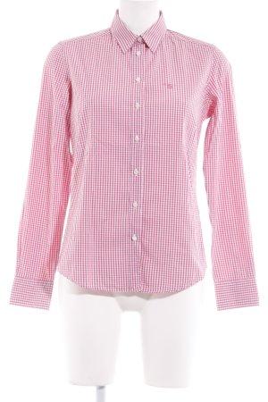 Gant Langarmhemd pink-magenta Karomuster Casual-Look
