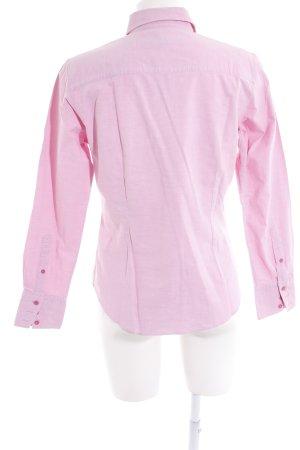 Gant Langarmhemd rosa Schriftzug gedruckt Business-Look