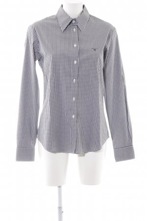 Gant Langarmhemd schwarz-weiß Karomuster