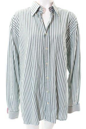 Gant Langarmhemd Streifenmuster Logostickerei