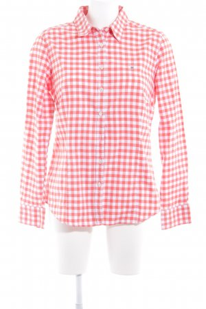 Gant Long Sleeve Shirt white-bright red check pattern business style
