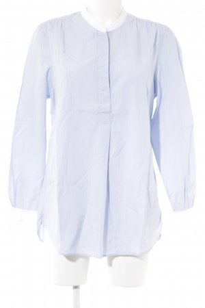 Gant Langarmhemd weiß-himmelblau Streifenmuster Business-Look