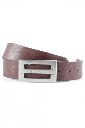 Gant Leather Belt brown casual look