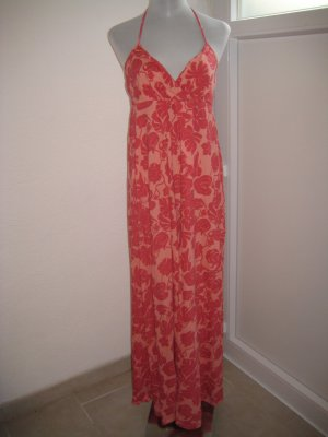 Gant Maxi Kleid  Orange Apricot Gr M 38/40
