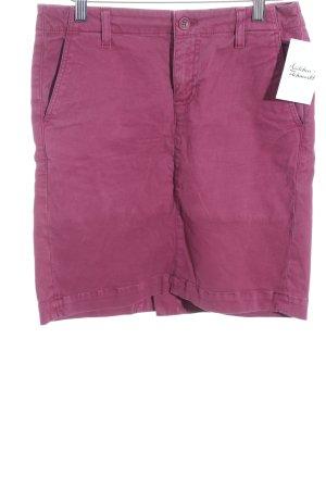Gant Minirock purpur schlichter Stil