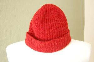 GANT Mütze, rot, Lammswolle