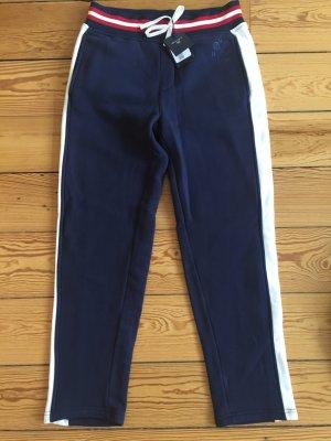 Gant, neue Sweathose, jogginghose, homewear, dunkelblau weiß, M