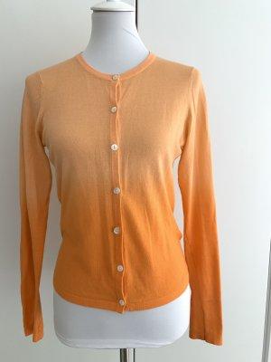 GANT oranger Cardigan mit Farbverlauf
