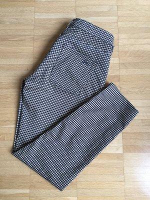 Gant 7/8-broek donkerblauw-licht beige Gemengd weefsel
