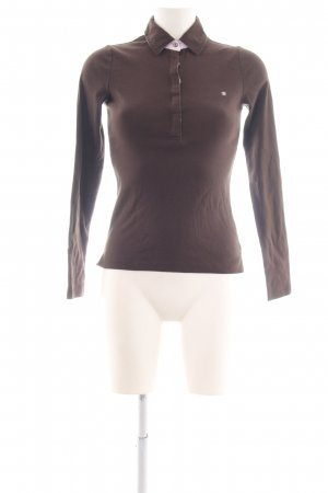 Gant Polo shirt bruin-roze casual uitstraling