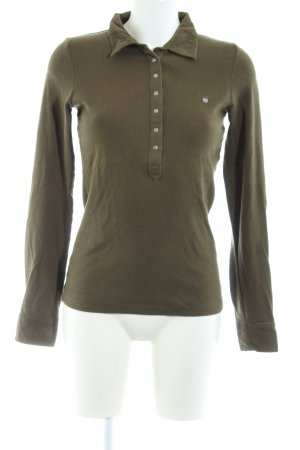 Gant Polo-Shirt khaki Casual-Look