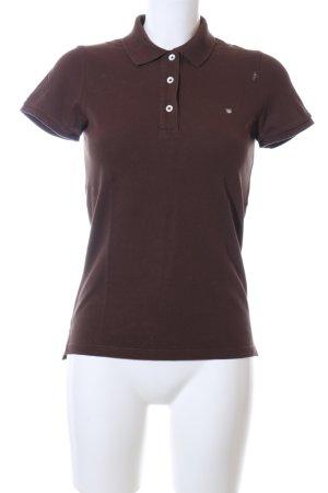 Gant Polo-Shirt braun Casual-Look