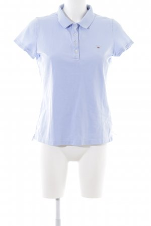 Gant Polo-Shirt blau-türkis Casual-Look