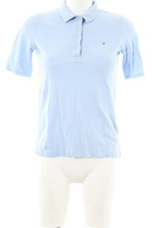 Gant Polo shirt blauw casual uitstraling