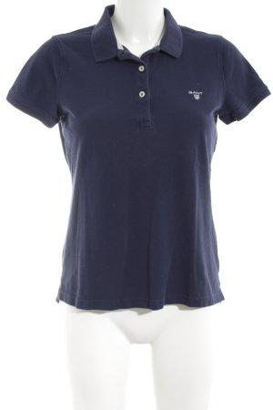 Gant Polo-Shirt blau sportlicher Stil