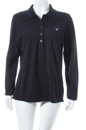 Gant Polo-Shirt dunkelblau schlichter Stil