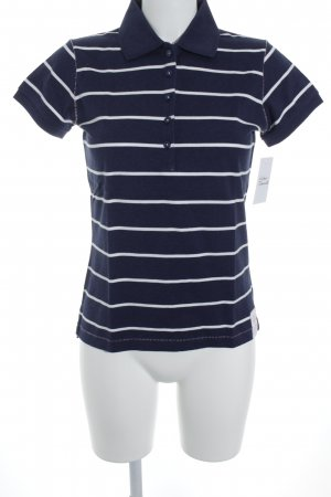Gant Polo-Shirt dunkelblau-weiß Ringelmuster Marine-Look