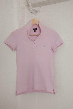 Gant - Polo-Shirt - Gr. XS - 34 - T-Shirt - rosa