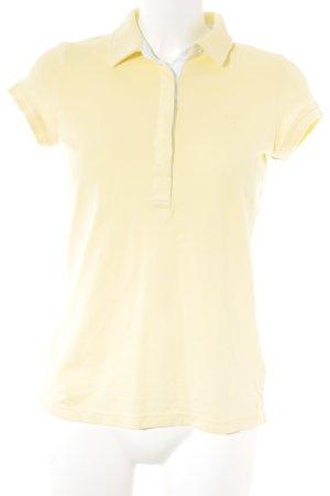 Gant Polo-Shirt hellgelb klassischer Stil