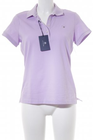 Gant Polo-Shirt helllila Brit-Look
