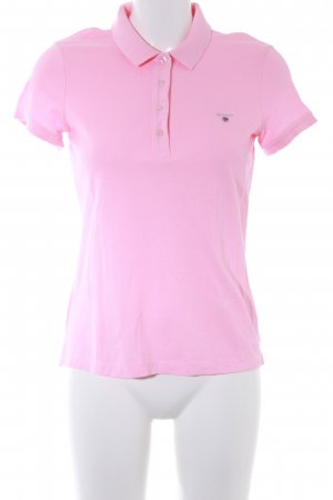 Gant Polo-Shirt hellrosa sportlicher Stil