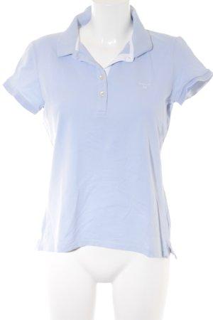 Gant Polo-Shirt himmelblau sportlicher Stil