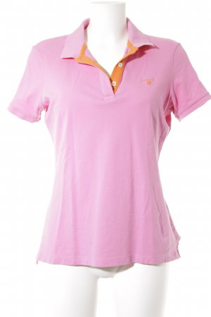 Gant Polo-Shirt pink-orange Casual-Look
