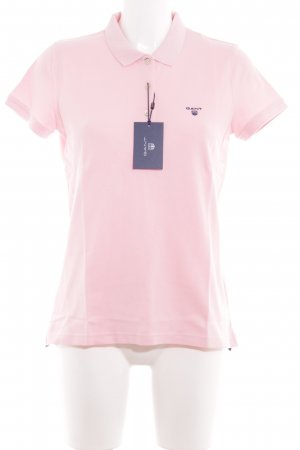 Gant Polo-Shirt rosa schlichter Stil
