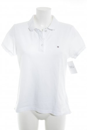 Gant Polo-Shirt weiß Casual-Look