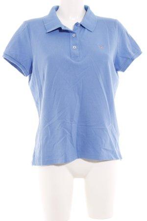 Gant Blusa tipo Polo azul celeste estilo deportivo