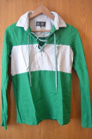 GANT Poloshirt grün weiß