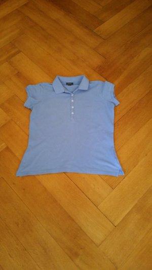 Gant Camiseta tipo polo azul celeste