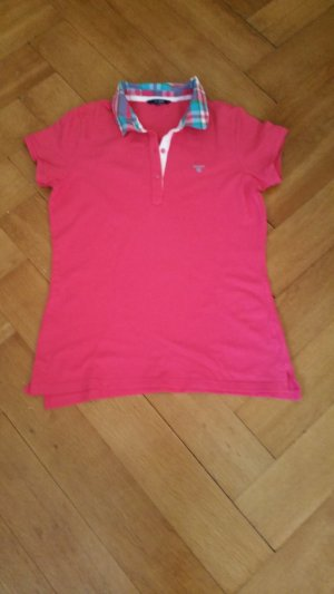Gant Polo Shirt bright red