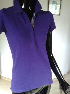 Gant Poloshirt, kräftiges violett, Gr.36, kaum getragen
