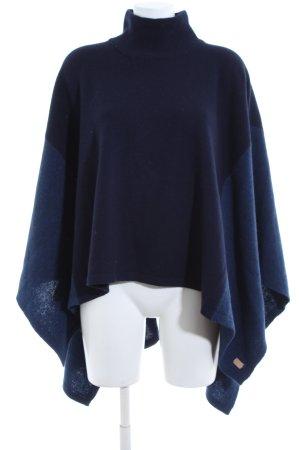 Gant Poncho azul look casual